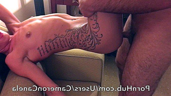 С камшотами латина любительница с маленькими сиськами (Cameron Canela)